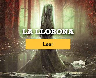 Historias de terror cortas - Banner La llorona