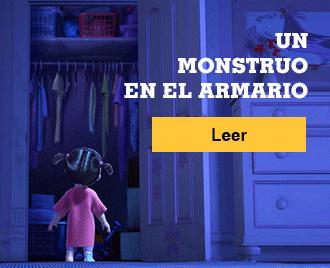 Historias de terror para no dormir - Banner - Un monstruo en el armario