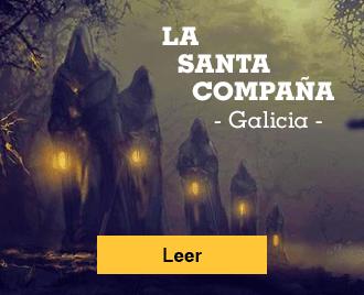 Historias de terror españolas - Banner - La Santa Compaña, Galicia