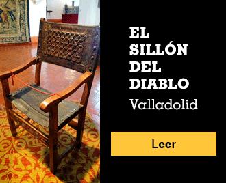 Historias de terror españolas - Banner - El Sillón del Diablo, Valladolid