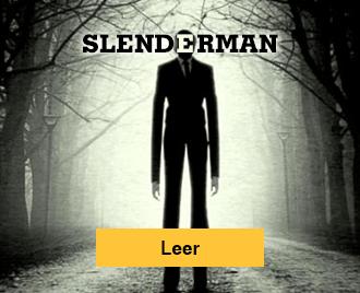 Historias de terror para no dormir - Banner - Slenderman