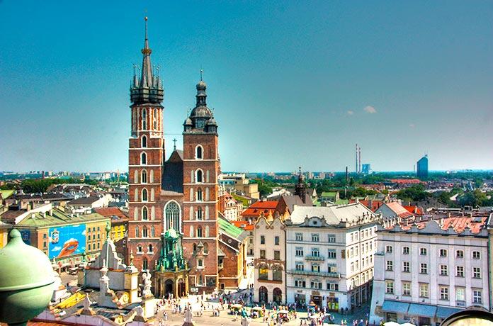 Basílica de Santa María, Cracovia.