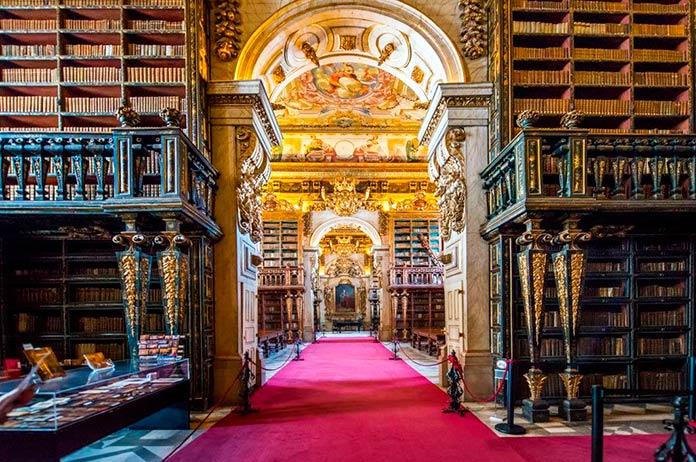 Biblioteca Joanina, Coímbra, Portugal