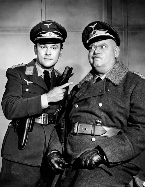 Bob Crane y John Banner