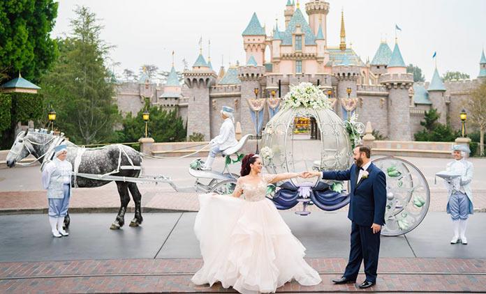 Boda Disney: carroza de Cenicienta