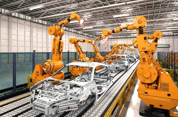 Brazos mecánicos - Brazo articulado industrial