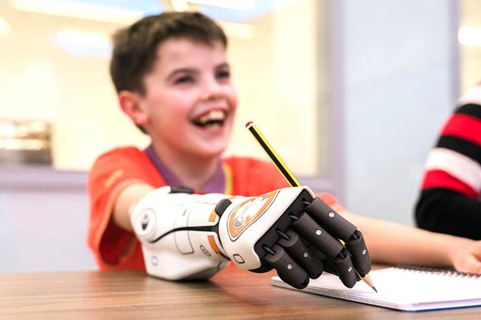 Brazos mecánicos - Hero Arm de Open Bionics
