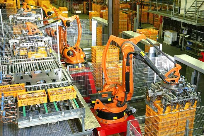 Brazos mecánicos - Producción industrial