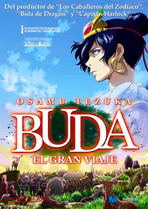 """Póster de la película """"Buda: El Gran Viaje"""", 2011"""