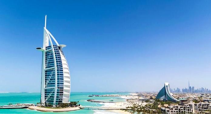 Burj Al Arab en Dubái, Emiratos Árabes Unidos