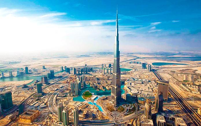 Burj Khalifa, Dubái.
