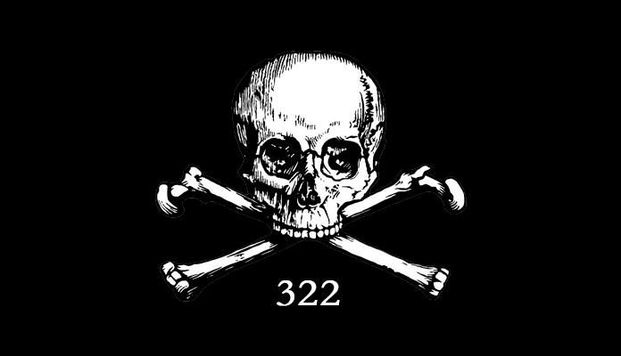Símbolo de Skull & Bones.