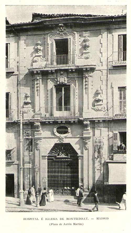 Fachada del hospital de Montserrat