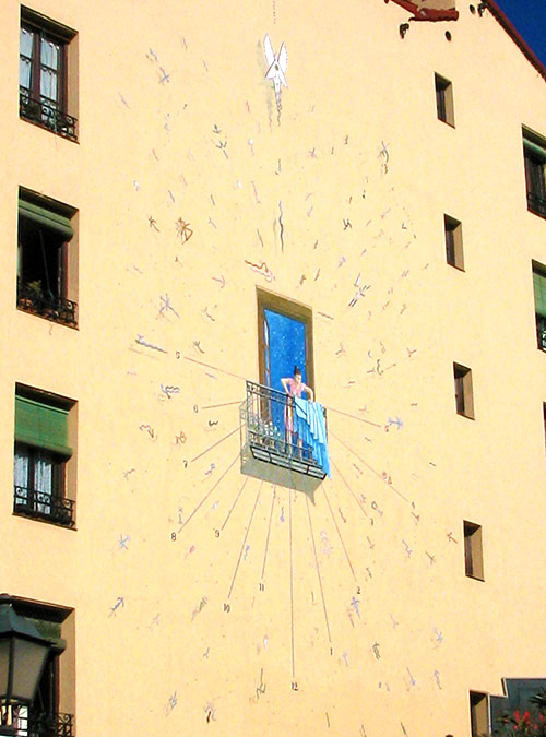 Calle de Embajadores - Reloj de sol