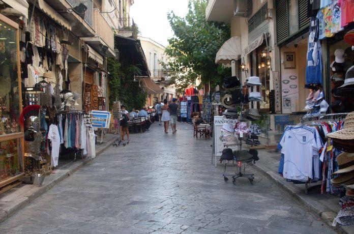 Calles-Atenas+Calle-Ermou