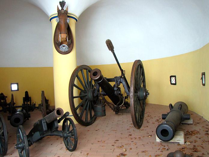 Exposición de cañones