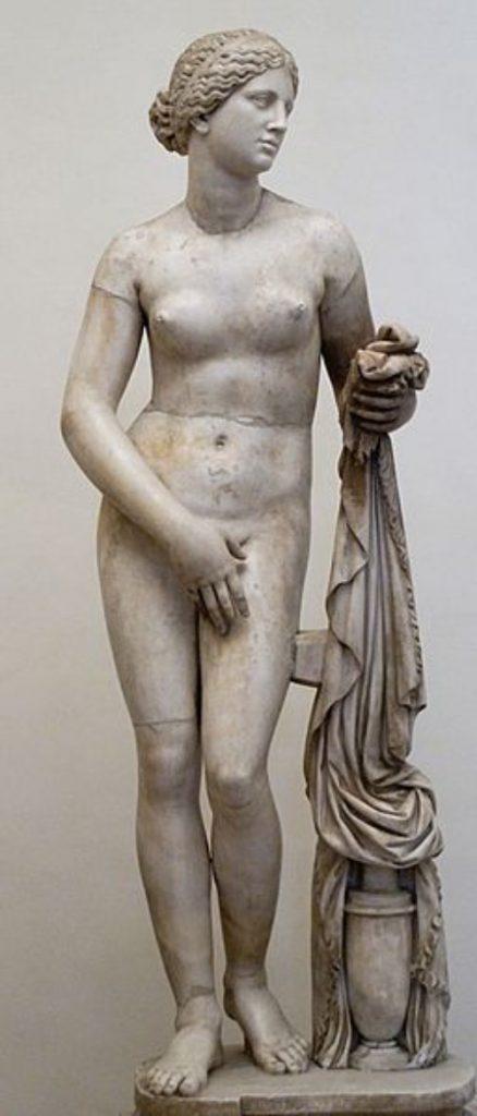 Cánones de belleza. Grecia. Afrodita Cnidea.