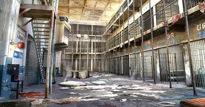 Las cárceles más aterradoras - Bangk Wang
