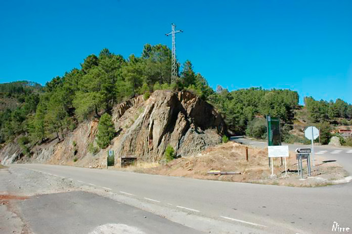Carretera Aceitunilla – Nuñomoral (Extremadura)