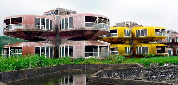 Casas OVNI de Sanzhi (Taiwán)