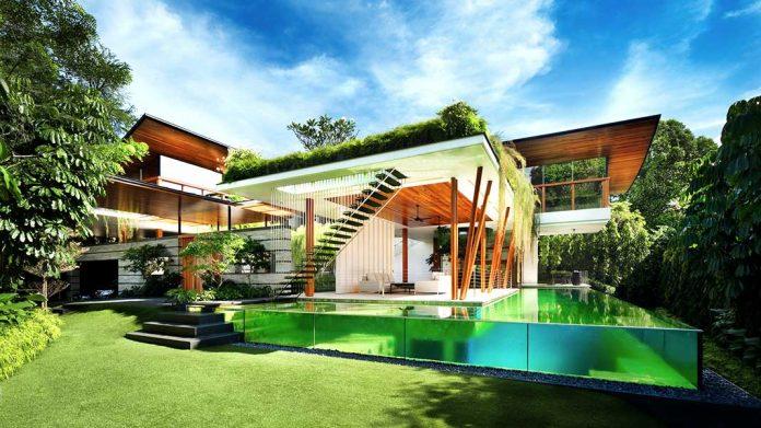 Casas verdes: 20 preciosas viviendas verdes magistralmente integradas en la naturaleza