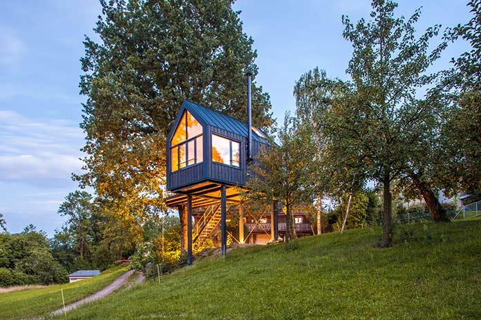 Casas verdes - Baumhaus Halden