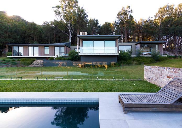 Casas verdes - Cedar Lane House