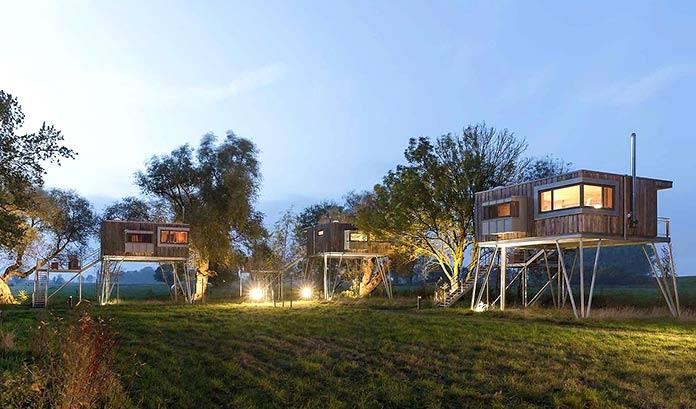 Casas verdes - Treehouse Djuren