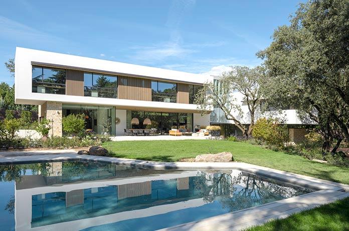 Casas verdes - Vivienda en la Moraleja