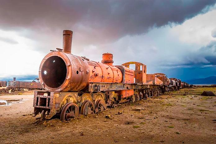 Cementerio de trenes (Bolivia)
