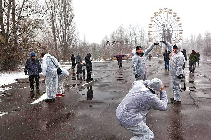 Bienvenido a Chernóbil