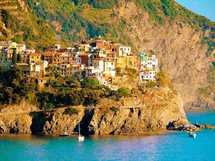 Corniglia, Cinque Terre, Italia.