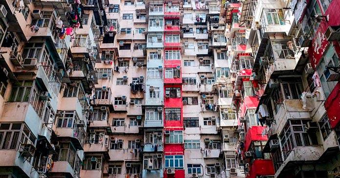 Ciudad amurallada de Kowloon (Hong Kong)
