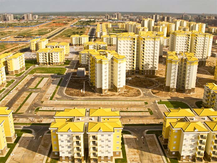 Ciudad fantasma de Kilamba (Angola)