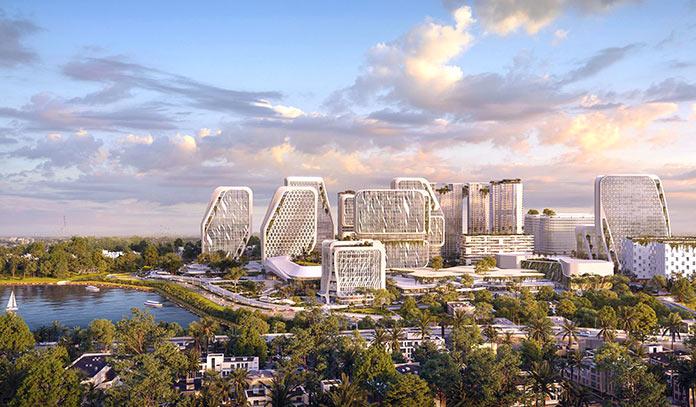Ciudades del futuro: Karle Town Centre, India
