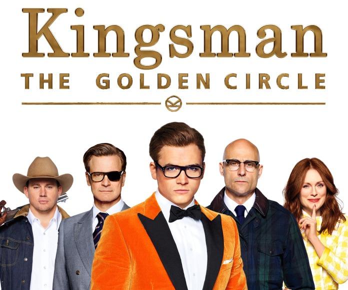 Cruzan el Atlántico en 'Kingsman_El Círculo de Oro'