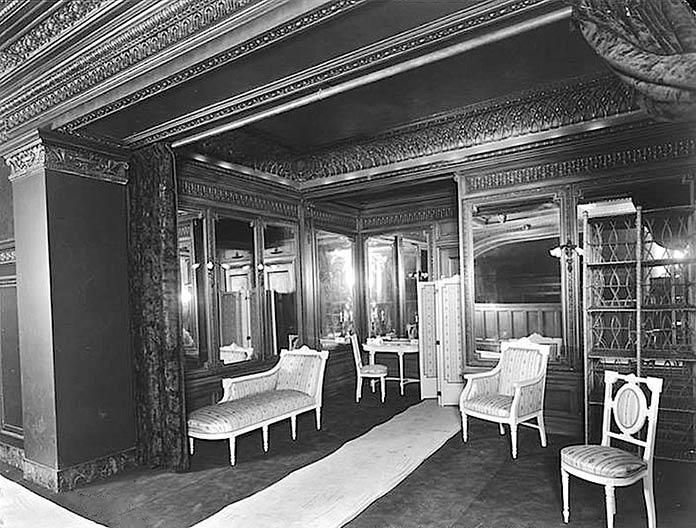 Sala para mujeres del teatro Hudson, Nueva York