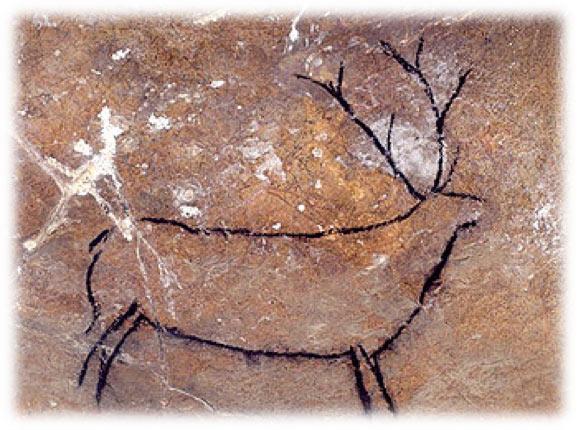 Tipos de escritura: Cueva de las Chimeneas en Cantabria