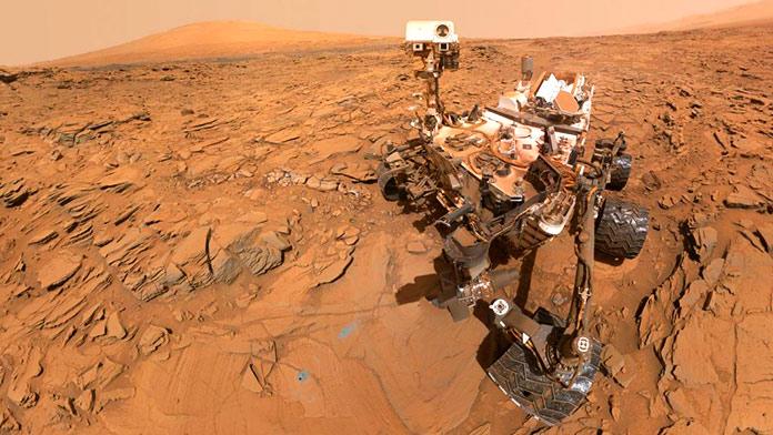 Curiosity Rover, Marte