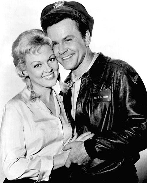 Cynthia Lynn y Bob Crane