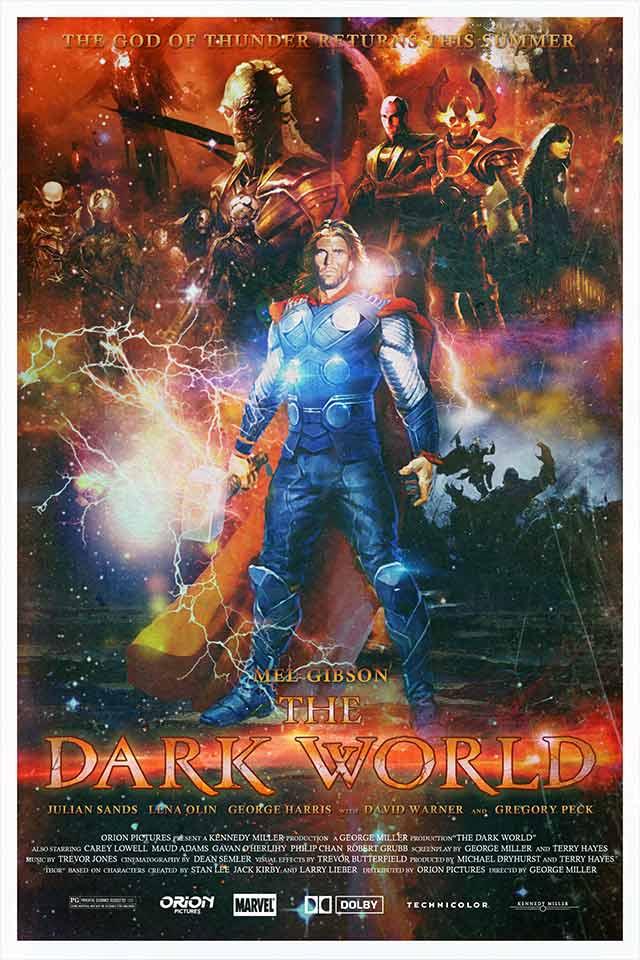 "Cartel de ""The Dark World"" (1987"