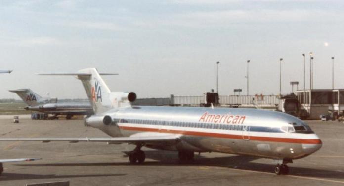 Desapariciones misteriosas + Boening-727--en-un-aeropuerto-en-Chicago