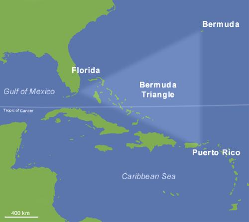 Desapariciones misteriosas + Triangulo-de-las-Bermudas
