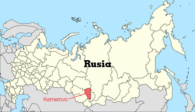 Desastres mineros - Kemerovo Oblast