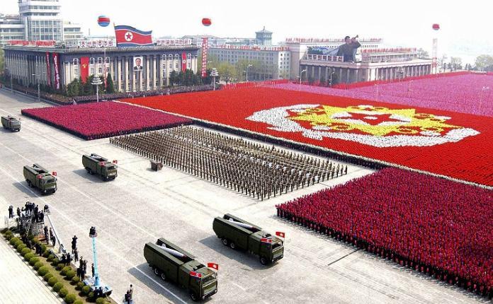 Desfile militar Corea del Norte
