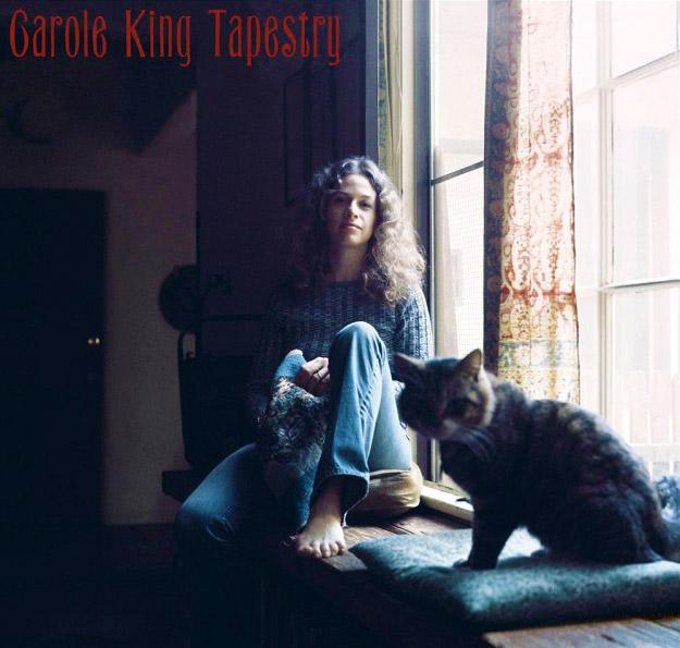 Portada del disco Tapestry de Carole King