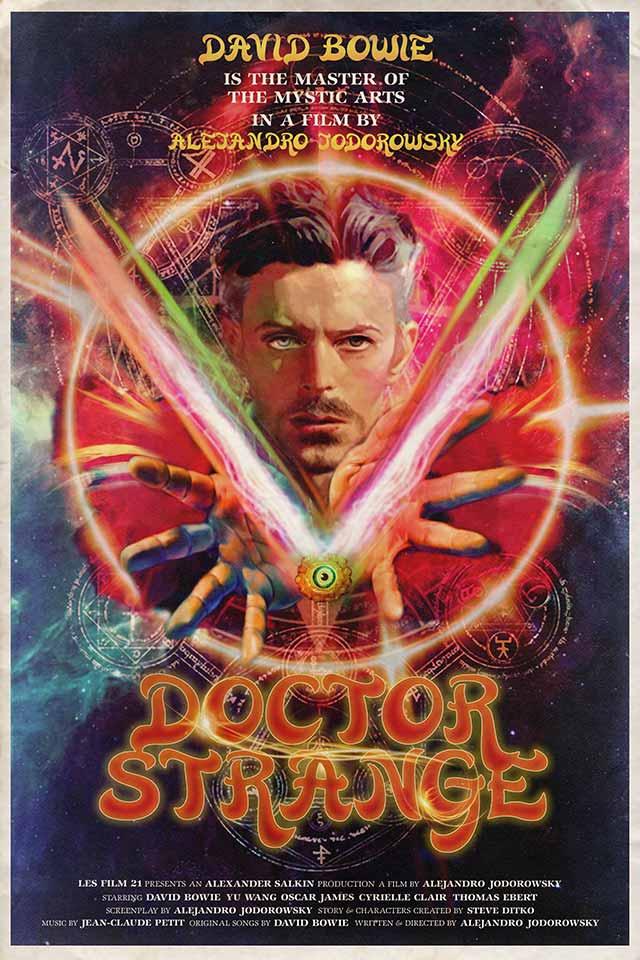 "Cartel de ""Doctor Strange"" (1978)"