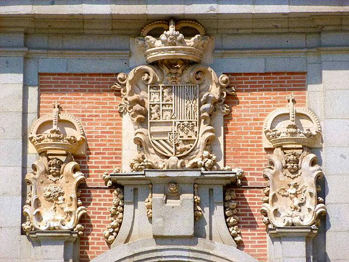 Escudos de la Casa de la Villa