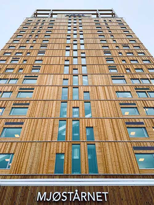 Edificios ecológicos - Torre Mjøstårnet