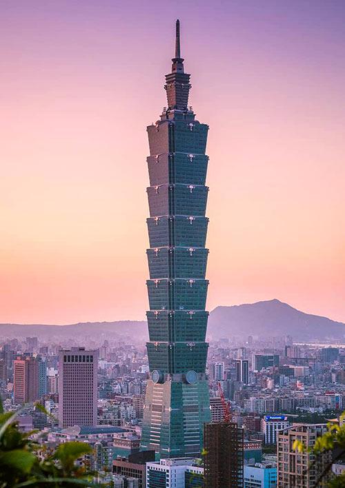 Edificios ecológicos - Taipéi 101